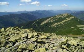 Система гірських хребтів Горгани