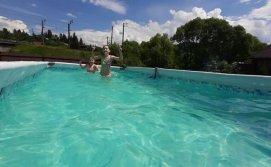 Приватна садиба Діміра - літній басейн