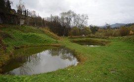 Баня на території садиба Карпатський острівець