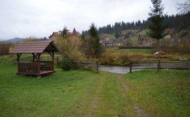 Приватна садиба Карпатський острівець - річка по межі території