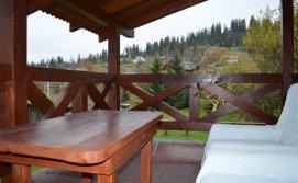 Вигляд з тераси апартаменти на 4-6 осіб Приватна садиба У Галі