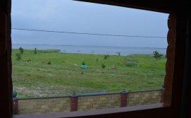 База відпочинку Пулемчанка - Вигляд на пляж з балкону