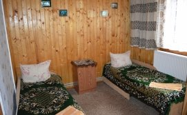 Спальня на двох - котедж Обіч