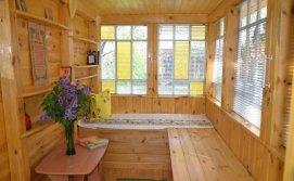 Бджолиний будиночок в середині