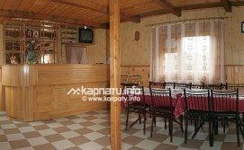 Котеджі Казковий Світязь - вітальня студія в будинку 1