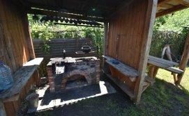 Місце для приготування став на вогні